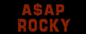 A$AP Rocky Logo 5