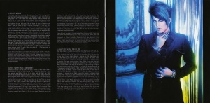 Adam Lambert For Your Entertainment Booklet-2