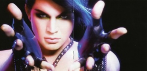 Adam Lambert For Your Entertainment Booklet-5