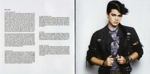 Adam Lambert For Your Entertainment Booklet-6