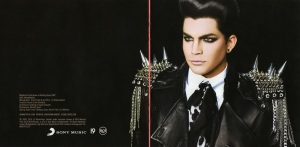 Adam Lambert For Your Entertainment Booklet-7