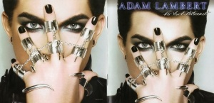 Adam Lambert For Your Entertainment Booklet