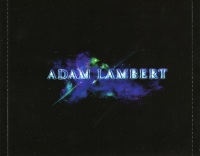 Adam Lambert For Your Entertainment Inlay