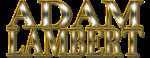 Adam Lambert Logo (3)