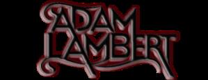 Adam Lambert Logo (6)