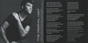 Adam Lambert The Original High Booklet-3