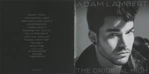 Adam Lambert The Original High Booklet
