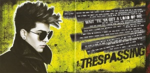 Adam Lambert Trespassing Booklet-2