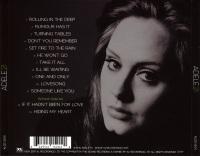Adele 21 Back