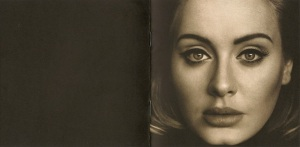 Adele 25 Booklet