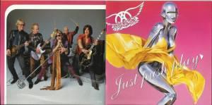 Aerosmith Just Push Play Booklet-4