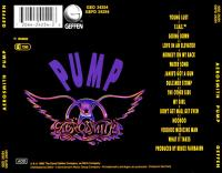 Aerosmith Pump Back