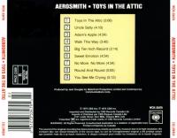 Aerosmith Toys In The Attic Back