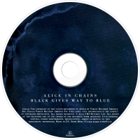 Alice In Chains Cdart Black Gives Way To Blue