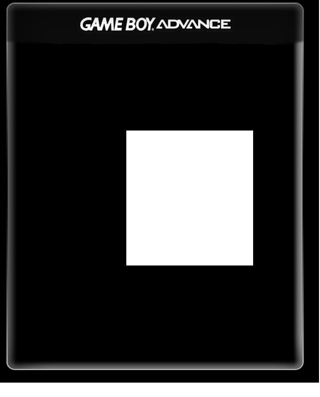 gameboy advance black case cover template gigabeat