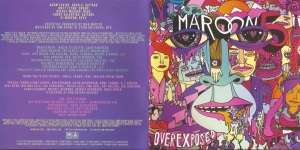 Maroon 5 Overexposed Booklet-1