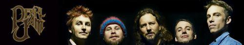 Pearl Jam Banner Art