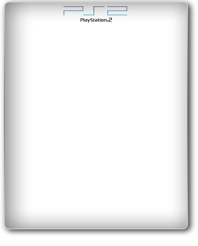 PS2 PLAYSTATION WHITE CASE COVER TEMPLATE | Gigabeat