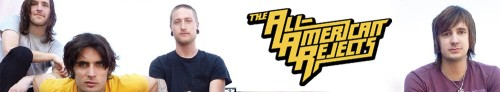 The All American Rejects Musicbanner