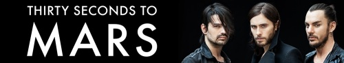 30 Seconds To Mars Banner
