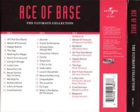 Ace Of Base The Ultimate Collection Back