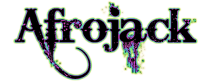 Afrojack Black Logo Art