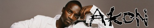 Akon Banner Art