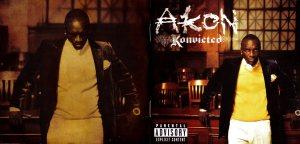 Akon Konvicted Booklet