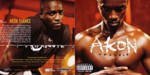 Akon Trouble (14 Tracks) Booklet (1-3)