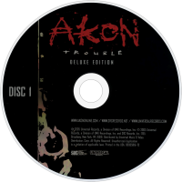 Akon Trouble Disc 1