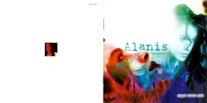 Alanis Morissette Jagged Little Pill Booklet