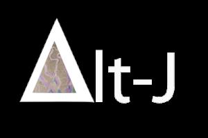 Alt J White Logo Art