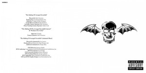 Avenged Sevenfold Avenged Sevenfold Booklet-1