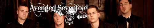 Avenged Sevenfold Banner Art