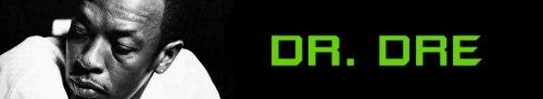 Dr Dre Banner Art