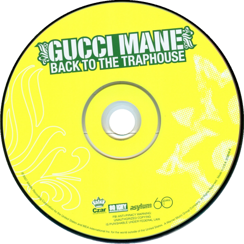 ffe29a71c8db Gucci Mane Back To The Traphouse CD