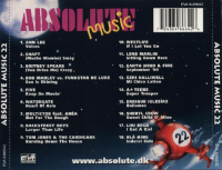 V.A.-Absolute Music Vol.22 Back