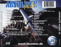 V.A.-Absolute Music Vol.25 Back