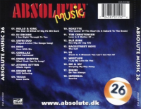 V.A.-Absolute Music Vol.26 Back