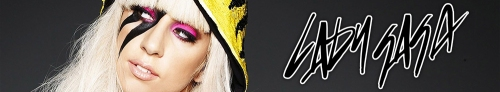 Lady GaGa Banner Art