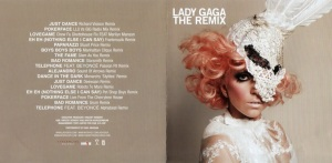 Lady GaGa - The Remix (UK) - Booklet (1-2)