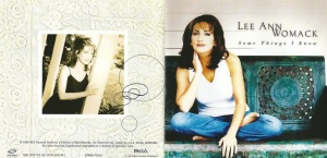 Lee Ann Womack Some Things I Know Booklet (1)