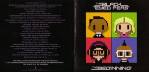 The Black Eyed Peas The Beginning Booklet