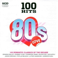 V.A.-100 Hits - 80s Love - Front
