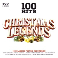 V.A. - 100 Hits - Christmas Legends - Front