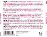 V.A. - 100 Hits - Club Anthems - Back