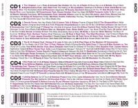 V.A. - 100 Hits - Club Hits 1991-2010 - Back