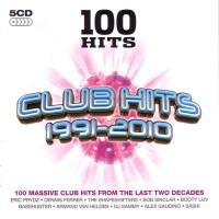 V.A. - 100 Hits - Club Hits 1991-2010 - Front
