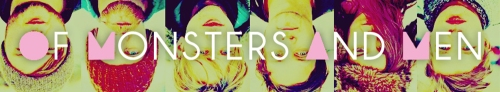 Of Monsters and Men Banner Art